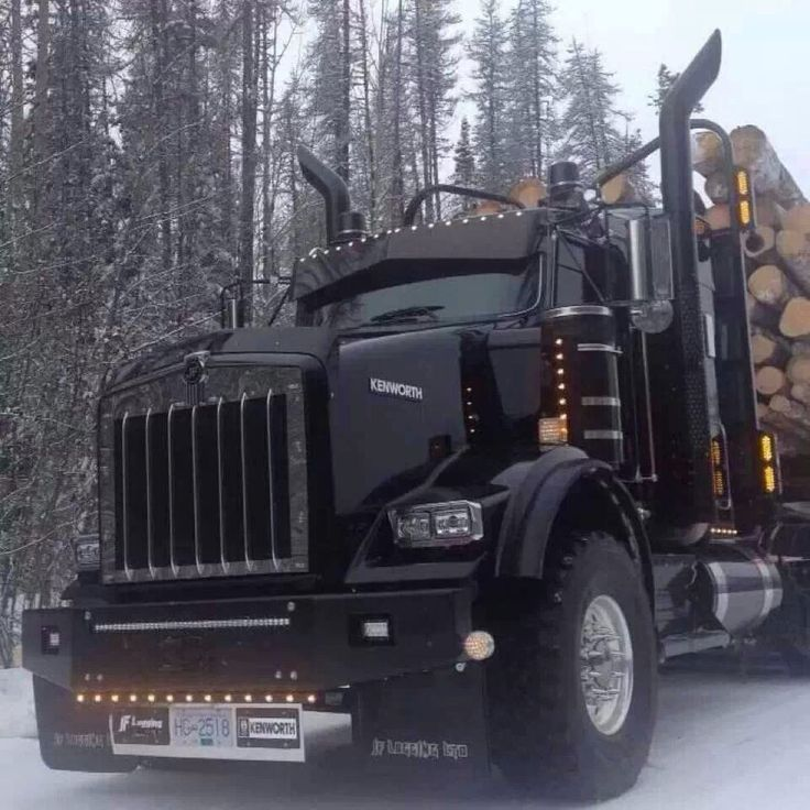 Kenworth trucks are awesome .....