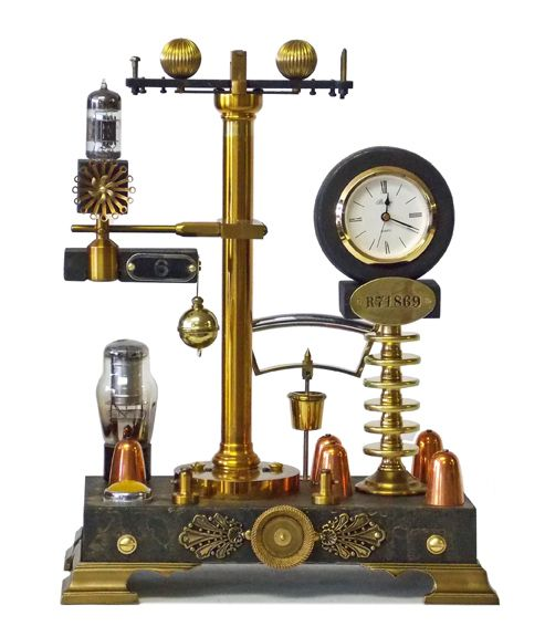 1000 images about steampunk clocks on pinterest transitional clocks electronic parts and - Steampunk mantle clock ...