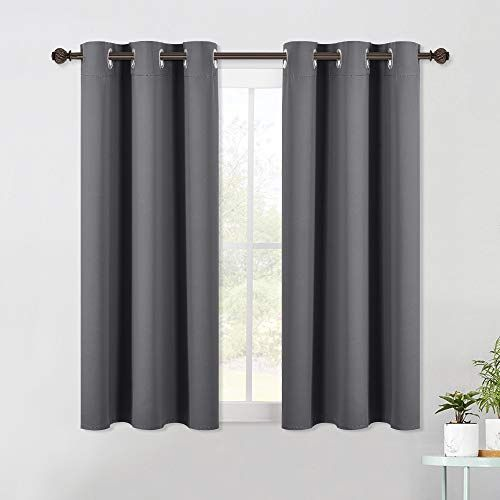 Short Blackout Curtains 54 Inch Long In 2020 Blackout Draperies
