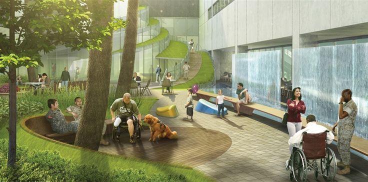therapeutic landscape design, servizi, aree verdi, parchi pubblici