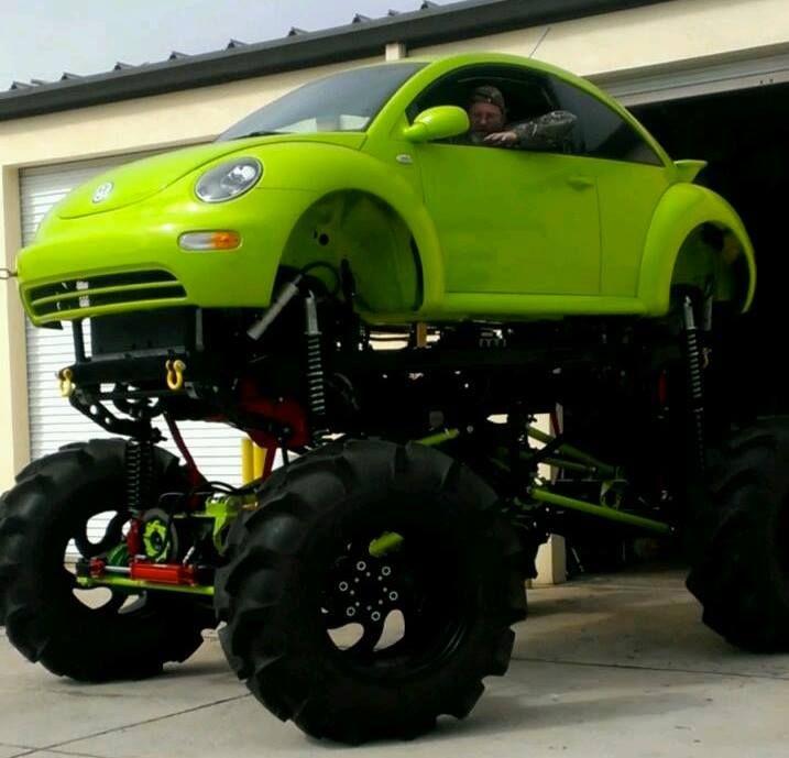 Mean VW | Wheels & Motors | Lifted trucks, Trucks, Monster ...