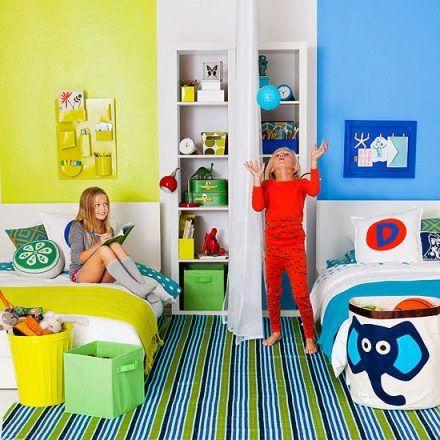 quartos partilhados por irmaos