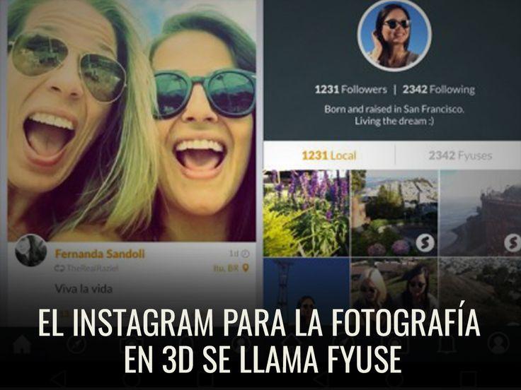 Explota toda tu creatividad con Fyuse, la aplicación que hace tus fotos más interactivas.  http://www.enter.co/chips-bits/apps-software/el-instagram-para-la-fotografia-en-3d-se-llama-fyuse/