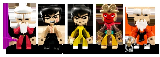 Round 5 x MAD x Bruce Lee - Temple of Kung Fu collection.  Dibs on GoD Bruce & the Monkey King