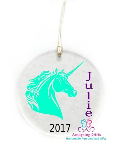 Mystical Unicorn Ornament 2017 - AmaysingGifts.Com