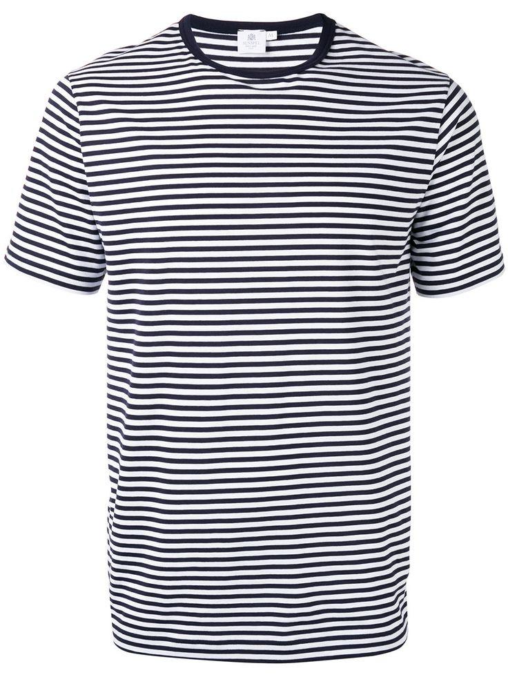Done: Sunspel striped T-shirt