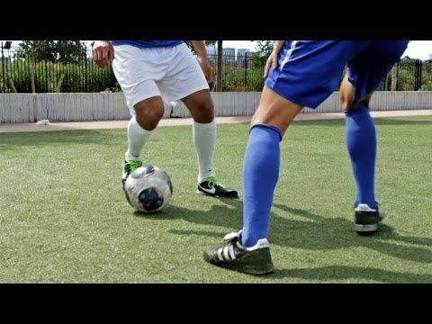How to Do a Single Cut & Double Cut | Soccer Skills | Awesome Sports Videos