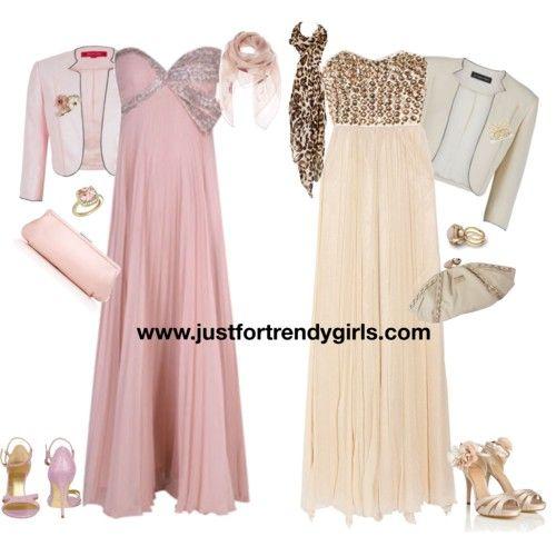 evening hijab clothes