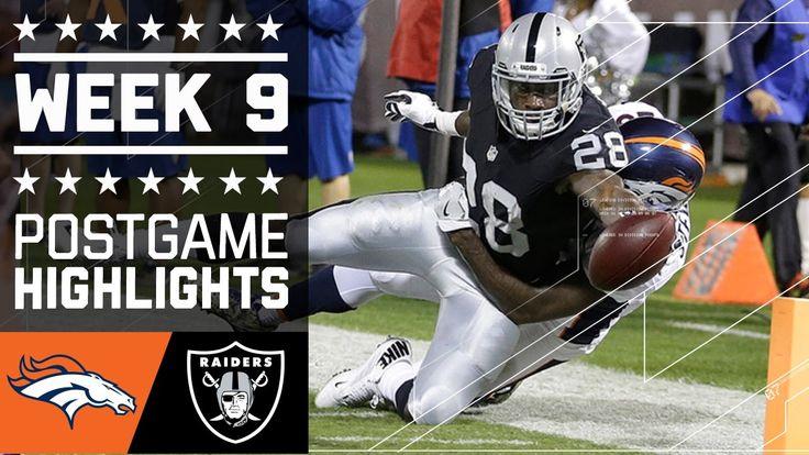 Broncos vs. Raiders (Week 9) | Game Highlights | NFL