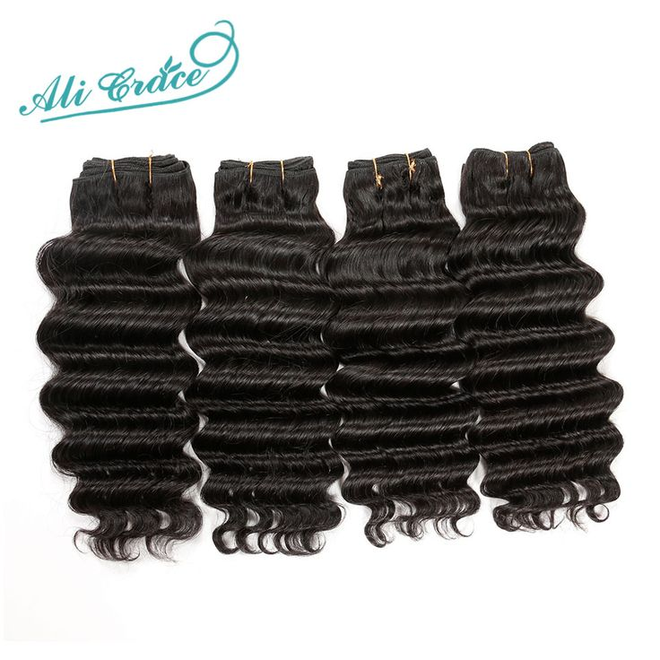 4bundles Brazilian Virgin Hair Loose Deep Unprocessed Human Hair Natural1B Hair Weft Cheap Brazilian Virgin Hair Loose Deep
