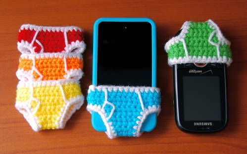 Crochet Underwear : Crochet underwear for your ipood :D Crochet! Pinterest