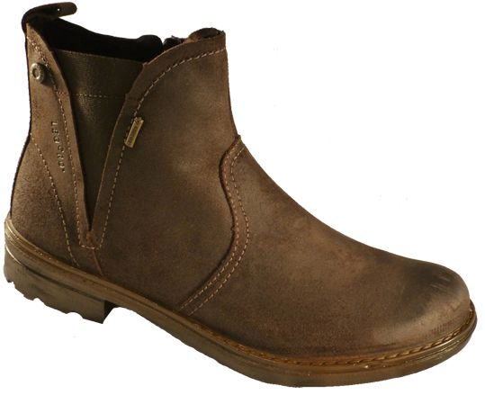 Low boots for ladies, with Gore Tex and leather, by Legero - Online shoe store