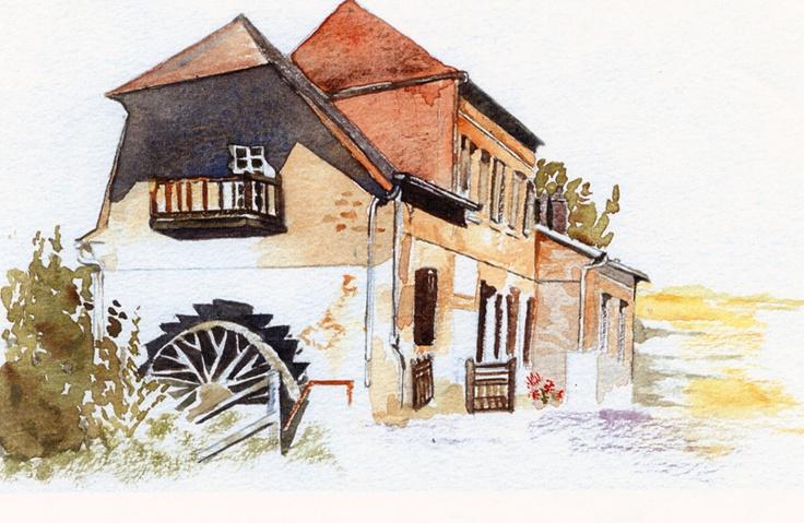Chambre d'hôtes Le Moulin de l'Epinay à Ste Beuve en Rivière. Chambres d'hôtes chaleureuses et accueillantes, dans un ancien moulin, où vous passerez un séjour agréable et gourmand. A 40km de Rouen et du port de Dieppe.