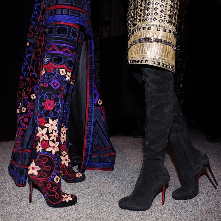 f3b1e5f57ef6 christian louboutin louis xi 120 black boots black and gold vintage  louboutin sandals 2016  2017 ...