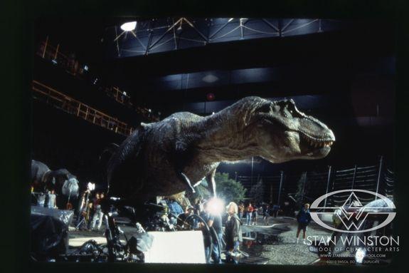 Jurassic Park T Rex Robot As Dangerous As A Real