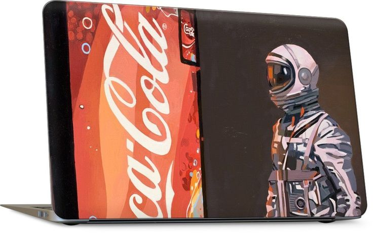 The Coke Machine Laptop Skin
