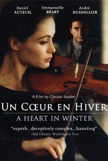 Un Coeur en Hiver   Director: Claude Sautet  Writers: Claude Sautet (scenario and dialogue), Jacques Fieschi (scenario and dialogue),