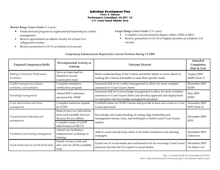 Best 25+ Personal development plan example ideas on Pinterest - example of personal resume
