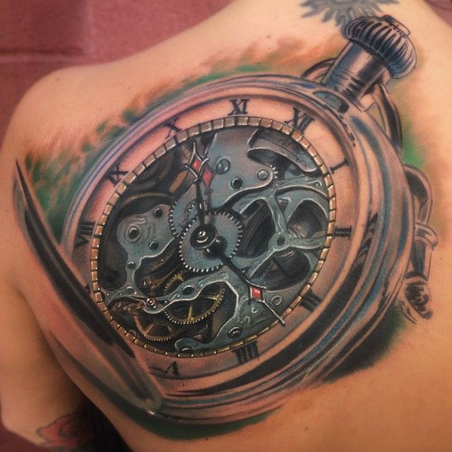grandfather clock face tattoo. old clock tattoo 80 designs for men timeless ink ideas grandfather face t