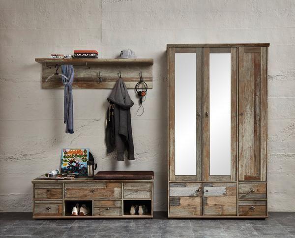 Garderoben Inspiration Holz Shabbychic Garderobe Garderobenset Garderoben Set Garderobe Schrank