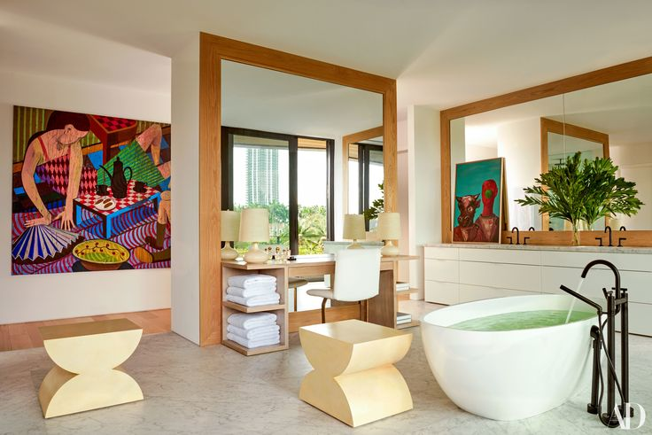 Jason and Michelle Rubell's Miami Beach Home Photos | Architectural Digest
