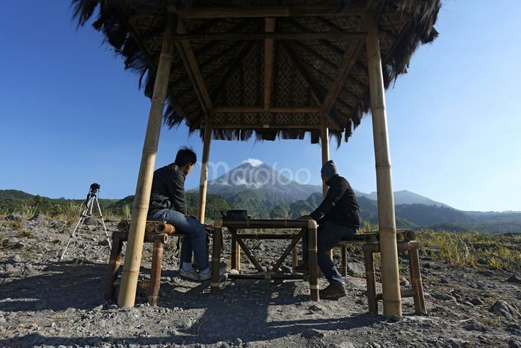 Pemandangan Gunung Merapi Dari Kaliadem. Foto oleh Benedictus Oktaviantoro.