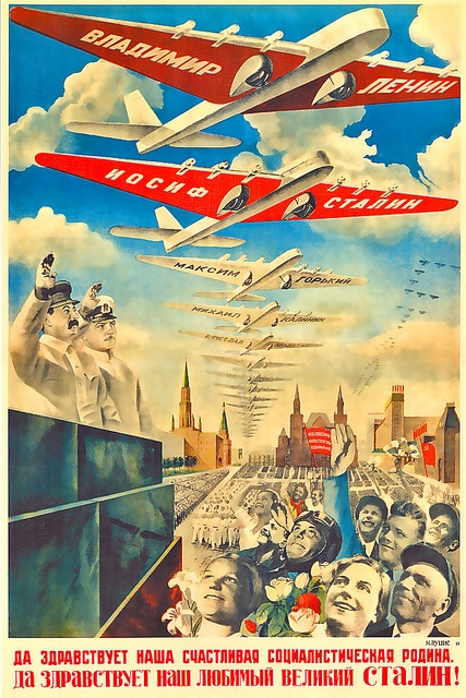 USSR ... happy flying planes! by x-ray delta one, via Flickr