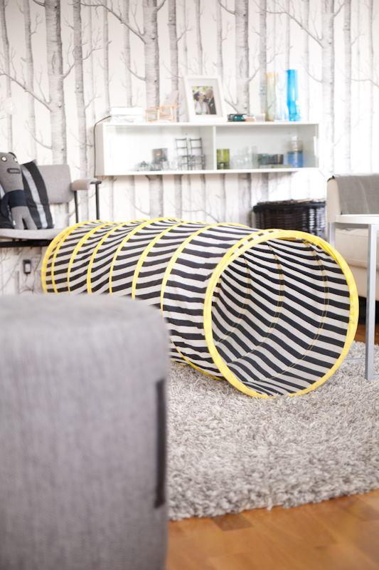 Livingroom with playtunnel