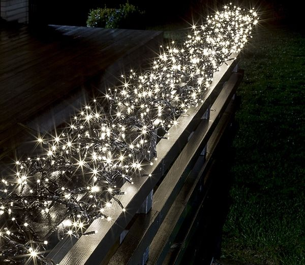 Best 123 christmas outdoor decorating images on pinterest merry this set of gorgeous led cluster lightset with 760 multi function warm white led lights by konstsmide offers your garden or home a warm christmas theme aloadofball Gallery