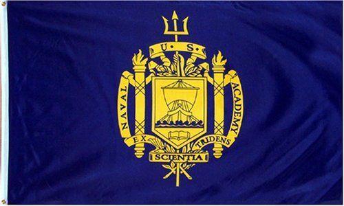 3x5 US Naval Academy Flag Brand New 3 x 5 Navy Banner . $4.99