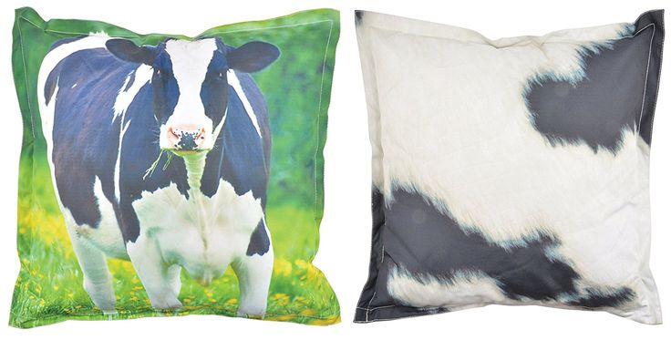 Fallen Fruits Large Outdoor Cow Cushion
