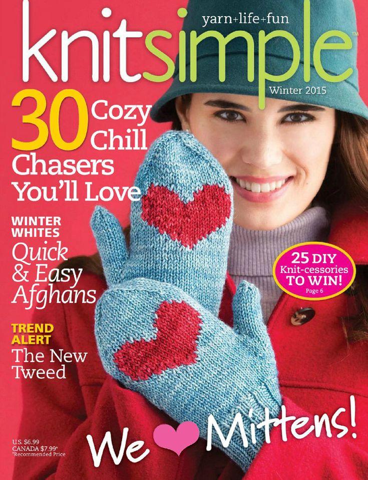 Knit Simple №4 2015 - 轻描淡写 - 轻描淡写