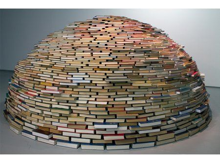 An igloo for book lovers. When do i move in, and can i check books out of it?