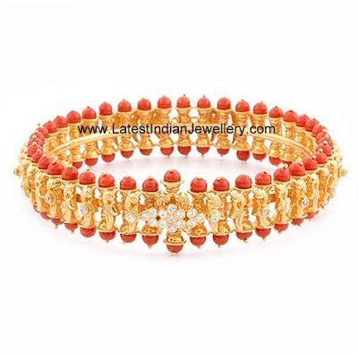Indian Designer Gold and Diamond Jewellery   LatestIndianJewellery.com