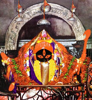 Kalighat Temple is the holiest place in Kolkata and is on the banks of a small canal called Adi Ganga.