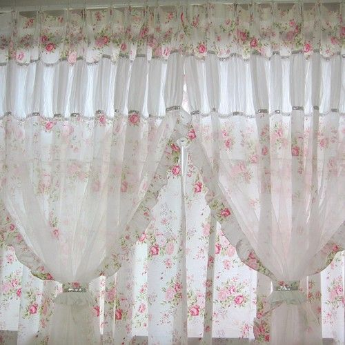 Shabby Chic Curtain Well According To The Styles I Like On Pinterest, I Am A