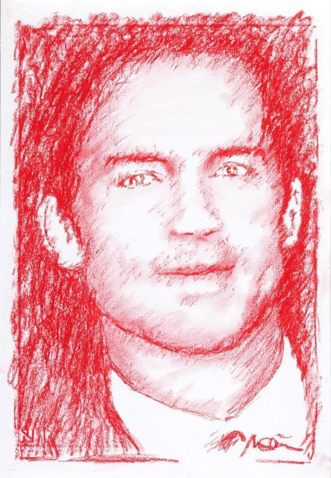 Titolo: Matt Bomer Tecnica. Pastello Tempo d'esecuzione: 22 minuti #portrait #art #MattBomer