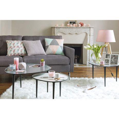 top tables basses gigognes galet maisons du monde with table basse bambou maison du monde. Black Bedroom Furniture Sets. Home Design Ideas