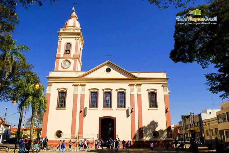 Atibaia (SP) - Igreja Matriz de São João Batista.