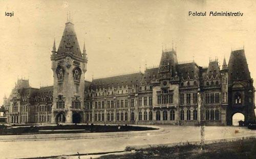 Iasi - Palatul Administrativ - 1926