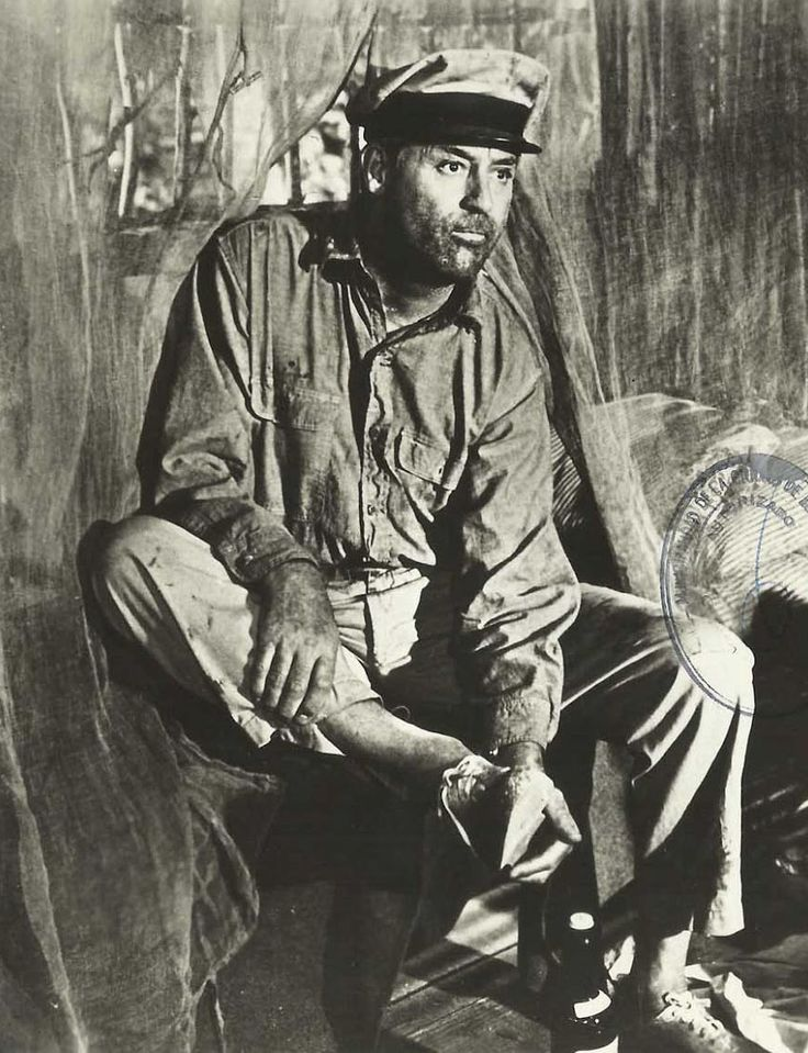 """Cary Grant en""""Operación Whisky"""" (Father Goose), 1964"""