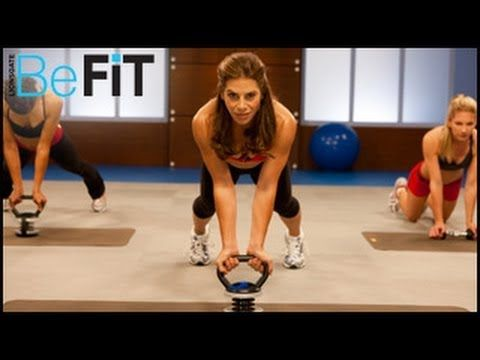 Jillian Michaels: Shred it With Weights Workout- Level 1 - YouTube GREAT KETTLE BELL WORKOUT (I did it without the kettle bell and just used a regular hand weight)