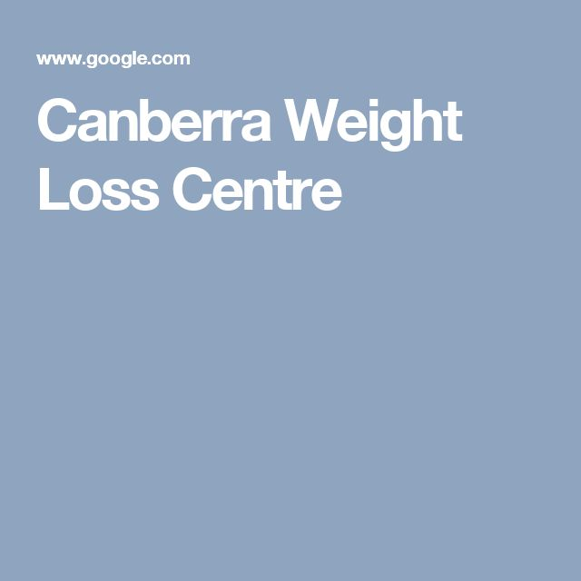 Canberra Weight Loss Centre