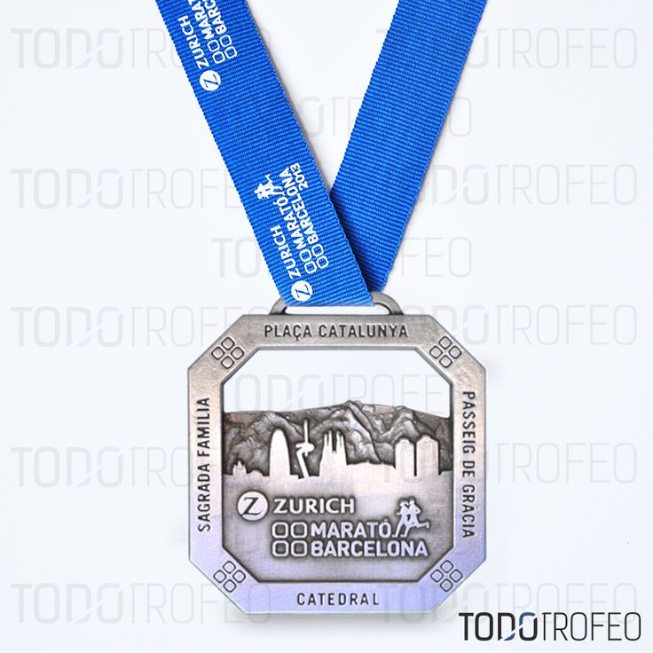 MEDALLA MARATÓN DE BARCELONA 2013. Diseñamos las medallas ...