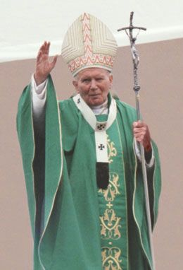 FOTO san Giovanni Paolo II