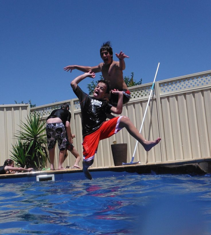 Cooling off in the Hot Australian Sun. #AustraliaDayOnboard