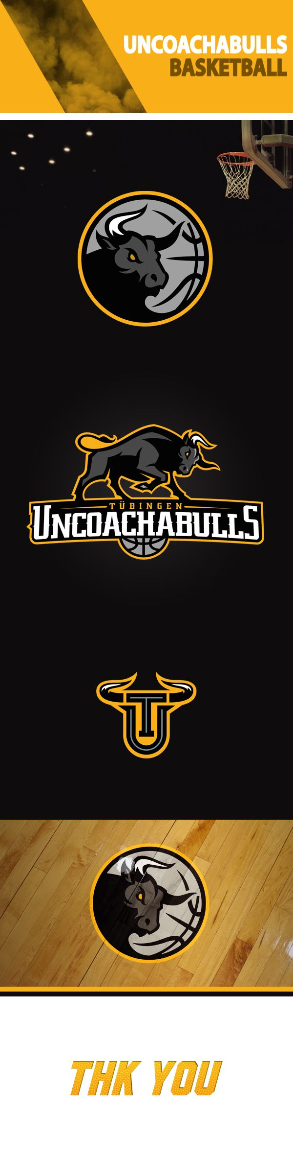 UNCOACHABULLS by Aurelien Mahaut, via Behance