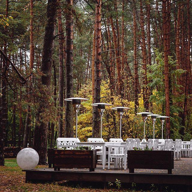 Ну... закрываем летнюю террасу до мая.  #pineriverhotel #всердцелеса #отдыхотгорода