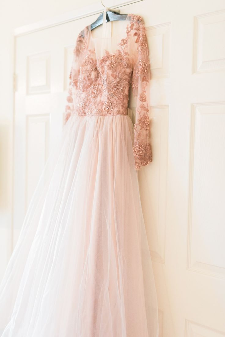 Blush Wedding Dress 1402 : Wedding in pink blush dresses weddings