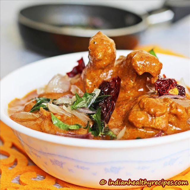 Nadan Chicken Curry | Nadan Kozhi Curry - Kerala Traditional Chicken Curry